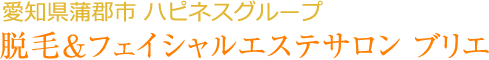 愛知県蒲郡市ハピネスグループ 脱毛&フェイシャルエステサロン ブリエ